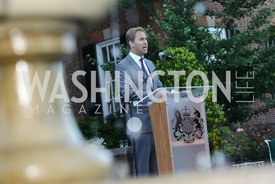 Britain MP Tobias Ellwood. Photo by Tony Powell. The Queen's 90th Birthday. Residence of Britain. June 8, 2016