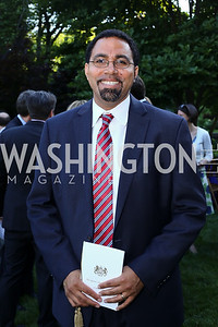Secretary of Education John King. Photo by Tony Powell. The Queen's 90th Birthday. Residence of Britain. June 8, 2016