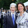 Former Sen. John Warner and Jeanne Warner. Photo by Tony Powell. The Queen's 90th Birthday. Residence of Britain. June 8, 2016