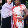 Capricia Marshall, Deesha Dyer. Photo by Tony Powell. The Queen's 90th Birthday. Residence of Britain. June 8, 2016