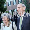 Joanna Breyer and Justice Stephen Breyer. Photo by Tony Powell. The Queen's 90th Birthday. Residence of Britain. June 8, 2016