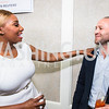 NeNe Leakes, Daniel Mandell. Photo by Alfredo Flores. Thomson Reuters Correspondents' Brunch‏. Hay Adams Hotel. May 1, 2016