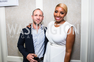 Daniel Mandell, NeNe Leakes,. Photo by Alfredo Flores. Thomson Reuters Correspondents' Brunch‏. Hay Adams Hotel-2.CR2