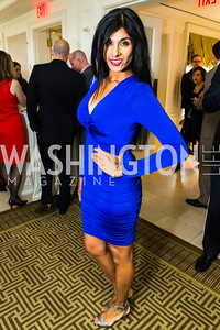 Sher Mathew. Photo by Alfredo Flores. Thomson Reuters Correspondents' Brunch. Hay Adams Hotel. May 1, 2016