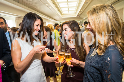 Katherine Nikas, Rebecca Sears, Kerri Kupec,. Photo by Alfredo Flores. Thomson Reuters Correspondents' Brunch‏. Hay Adams Hotel-2.CR2