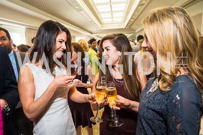Katherine Nikas, Rebecca Sears, Kerri Kupec,. Photo by Alfredo Flores. Thomson Reuters Correspondents' Brunch. Hay Adams Hotel-2.CR2