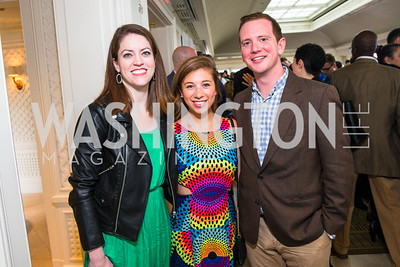 Emily Stephenson, Jessica Goldstein, Brian Austin. Photo by Alfredo Flores. Thomson Reuters Correspondents' Brunch‏. Hay Adams Hotel.CR2