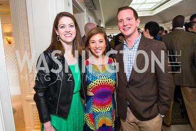 Emily Stephenson, Jessica Goldstein, Brian Austin. Photo by Alfredo Flores. Thomson Reuters Correspondents' Brunch. Hay Adams Hotel.CR2