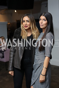 Lulu Badar, Sanaz Noorbakhsh. Photo by Tony Powell. Time Out Grand Seiko Event. Malmaison. October 25, 2016
