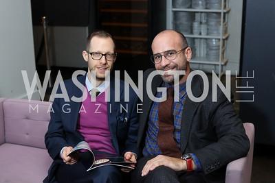 Ben Robboy, Ryan Hamilos. Photo by Tony Powell. Time Out Grand Seiko Event. Malmaison. October 25, 2016