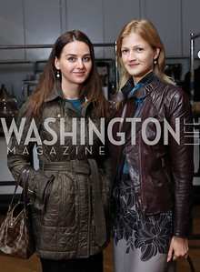 Irina Cempa, Yara Guk. Photo by Tony Powell. Time Out Grand Seiko Event. Malmaison. October 25, 2016