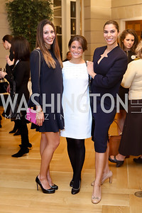 Karina Gutierrez, Karla Gonzalez, Reem Sadik. Photo by Tony Powell. To Celebrate the Power of Diplomacy. Blair House. November 16, 2016