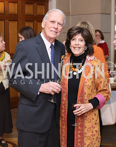 Walter and Didi Cutler. Photo by Tony Powell. To Celebrate the Power of Diplomacy. Blair House. November 16, 2016