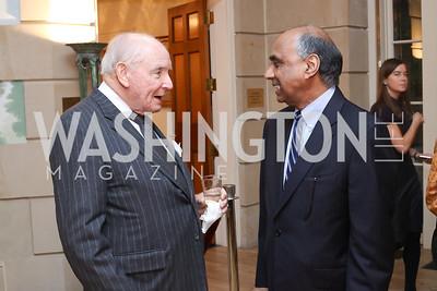 Philip Lauinger, Frank Islam. Photo by Tony Powell. To Celebrate the Power of Diplomacy. Blair House. November 16, 2016