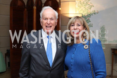 Lloyd Hand, Edilia Gutierrez. Photo by Tony Powell. To Celebrate the Power of Diplomacy. Blair House. November 16, 2016