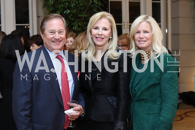 Jim Blanchard, Jane Cafritz, Susan Blumenthal. Photo by Tony Powell. To Celebrate the Power of Diplomacy. Blair House. November 16, 2016