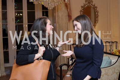 Jessica Gordon, Carmiel Arbit. Photo by Tony Powell. To Celebrate the Power of Diplomacy. Blair House. November 16, 2016