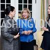 Maria Elena Sada, Edilia Gutierrez and Karina Gutierrez. Photo by Tony Powell. To Celebrate the Power of Diplomacy. Blair House. November 16, 2016