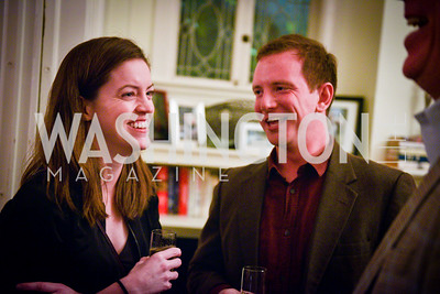 Ema Stephenson, Brian Aushin,Toast to the Political Press Corps with New Media Alliance