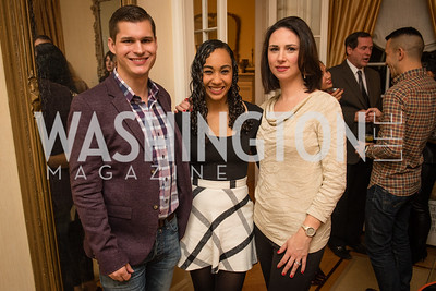 Michael Moroney, Francesca Chanbers, Heidi Przybyla, Toast to the Political Press Corps with New Media Alliance