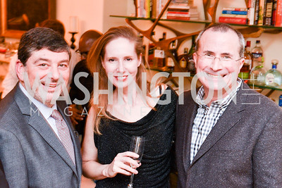 Frank Coleman, Juleanna Glover, David Chavern, Toast to the Political Press Corps with New Media Alliance