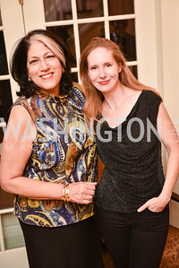 Tammy Haddad, Juleanna Glover, Toast to the Political Press Corps with New Media Alliance