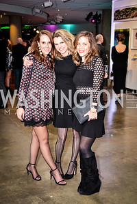 Trinity Gilfoy, Tara Goldenberg, Elaine Purcell, Transformer Art Auction Party, 11.19.16