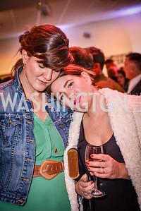 Svetlana Legetic, Morgan West, Transformer Art Auction Party, 11.19.16
