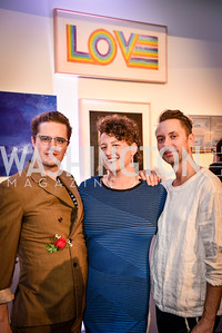 Martin Swift, Lisa Marie Thalhammer, Geoffrey Aldridge-Duncan, Transformer Art Auction Party, 11.19.16