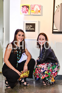 Liz Martone, Alissa Mittleberg, Transformer Art Auction Party, 11.19.16