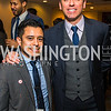 Steve Alfaro, Cristobal Alex. Photo by Alfredo Flores. Tribute to Mayors Inaugural Unity Dinner. Hyatt Regency Capitol Hill. January 18, 2017
