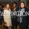 Frances Holuba, Rynthia Rost, Molly Fluet. Photo by Alfredo Flores. Tribute to Mayors Inaugural Unity Dinner. Hyatt Regency Capitol Hill. January 18, 2017