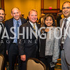 Gabe Klein, Hubert Riley, Mark Mitchell, Mrinalini Ingram, Majid Khan. Photo by Alfredo Flores. Tribute to Mayors Inaugural Unity Dinner. Hyatt Regency Capitol Hill. January 18, 2017