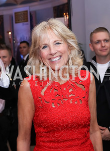 Dr. Jill Biden. Photo by Tony Powell. USO 75th Anniversary Gala. DAR. October 20, 2016