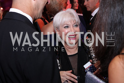 USO-Metro Area CEO Elaine Rogers. Photo by Tony Powell. USO 75th Anniversary Gala. DAR. October 20, 2016