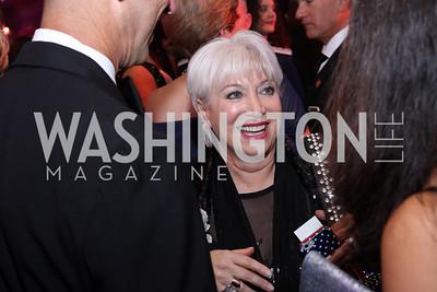 USO-Metro Area CEO Elaine Rogers. Photo by Tony Powell. USO 75th Anniversary Gala. DAR. October 20, 2016