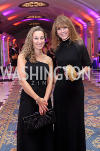 Rachal Pichette, Lynly Boor. Photo by Tony Powell. USO 75th Anniversary Gala. DAR. October 20, 2016