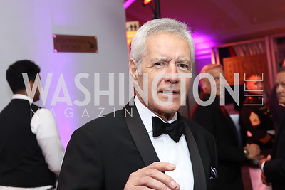 Alex Trebek. Photo by Tony Powell. USO 75th Anniversary Gala. DAR. October 20, 2016