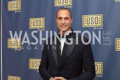 Photographer Nigel Barker. Photo by Tony Powell. USO 75th Anniversary Gala. DAR. October 20, 2016