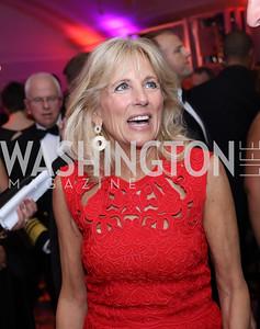 Dr. Jill Biden. Photo by Tony Powell. USO 75th Anniversary Gala. DAR. October 20, 2016
