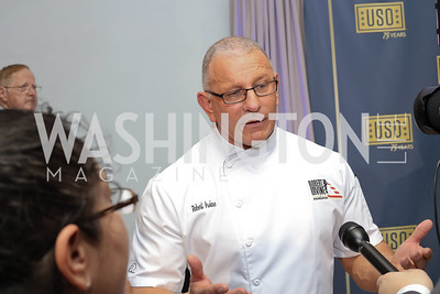 Chef Robert Irvine. Photo by Tony Powell. USO 75th Anniversary Gala. DAR. October 20, 2016