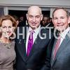 Betsy Becker, JD Crouch II, Jed Becker. Photo by Tony Powell. USO 75th Anniversary Reception. Hay Adams. February 4, 2016
