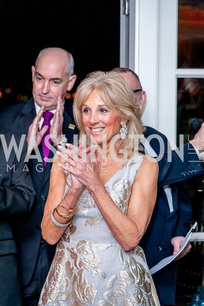 Dr. Jill Biden. Photo by Tony Powell. USO 75th Anniversary Reception. Hay Adams. February 4, 2016