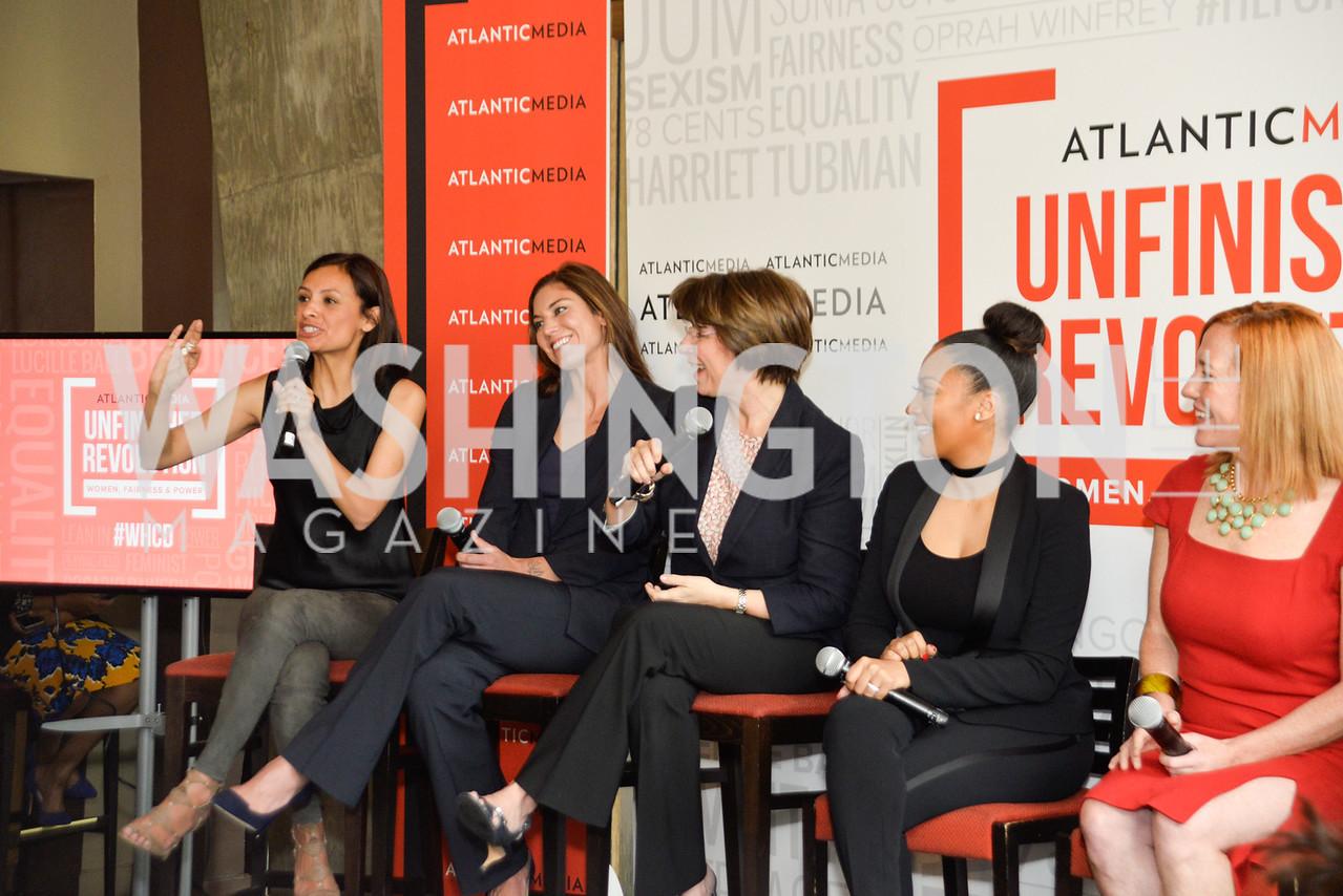 Maria Teresa Kumar, Hope Solo, Amy Klobuchar, La La Anthony, Jennifer Psaki