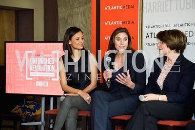Maria Teresa Kumar, Hope Solo, Amy Klobuchar