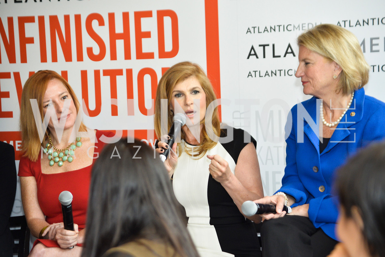 Jennifer Psaki, Connie Britton, Shelley Moore Capito
