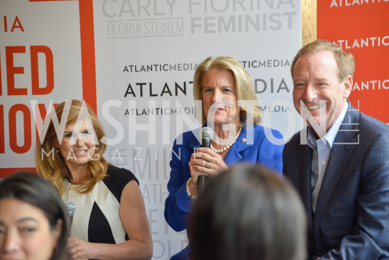 Connie Britton, Shelley Moore Capito, Brad Smith