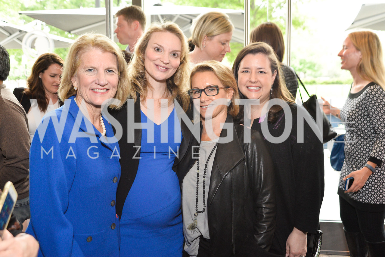 Shelley Moore Capito, Alyse Nelson, Gabrielle Carteris, Rebecca Damon