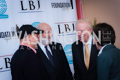 Woody Harrelson, Rob Reiner, Ben Barnes, Senator Susan Collins, Private Screening of LBJ, The National Archives, November 14, 2016, photo by Ben Droz