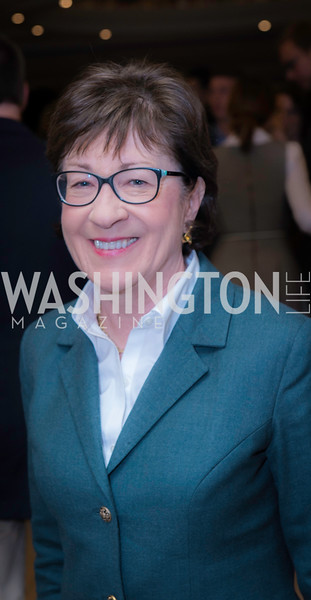 Senator Susan Collins, Private Screening of LBJ, The National Archives, November 14, 2016, photo by Ben Droz